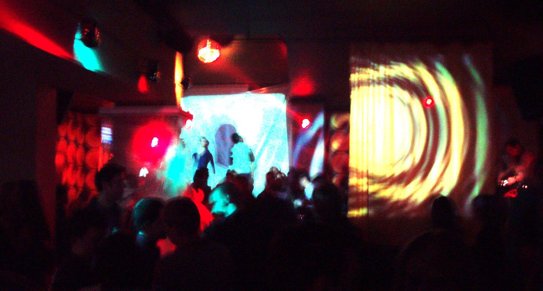 Klub Paprotka, wizualizacje i DJset Cpt. Sparky